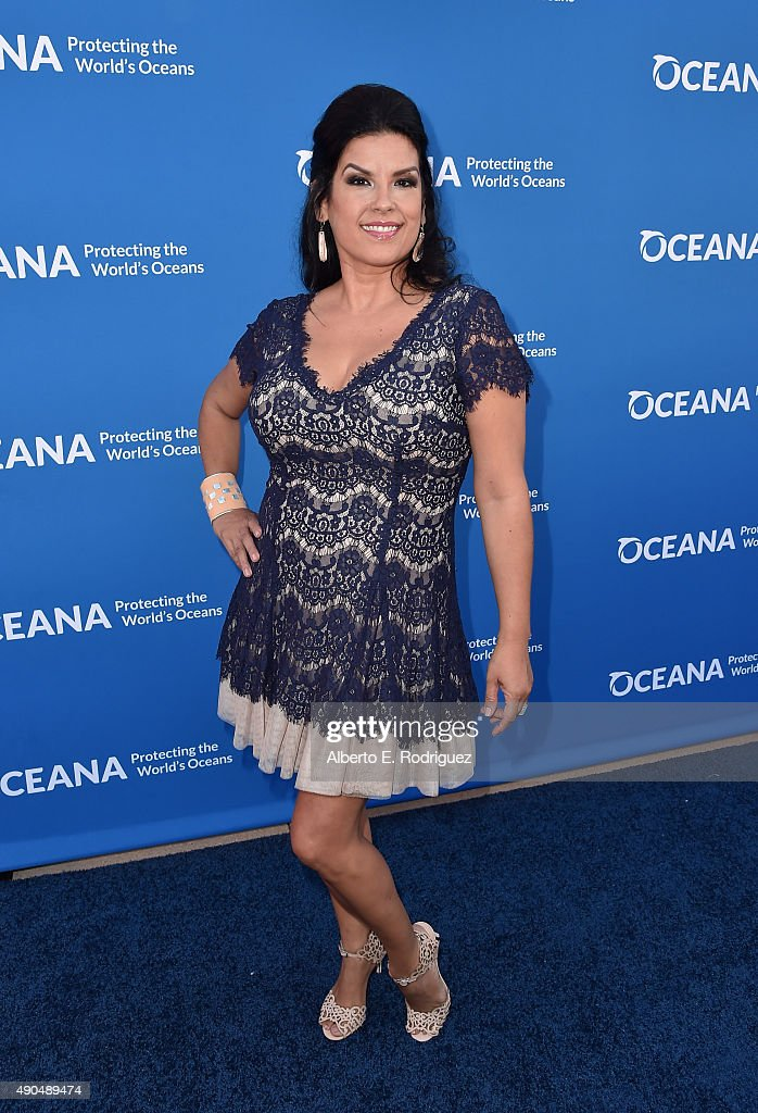 Actress Rebekah Del Rio attends the 'Concert For Our Oceans' hosted by Seth MacFarlane benefitting Oceana at The Wallis Annenberg Center for the Performing Arts on September 28, 2015 in Beverly Hills, California.