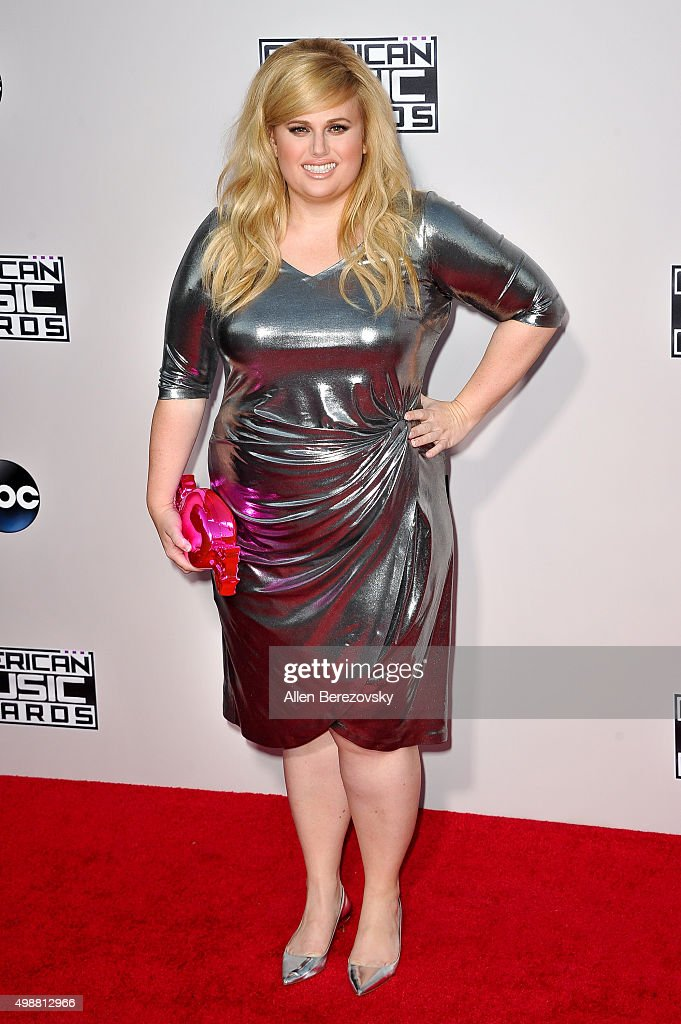 Actress Rebel Wilson arrives at the 2015 American Music Awards at Microsoft Theater on November 22, 2015 in Los Angeles, California.