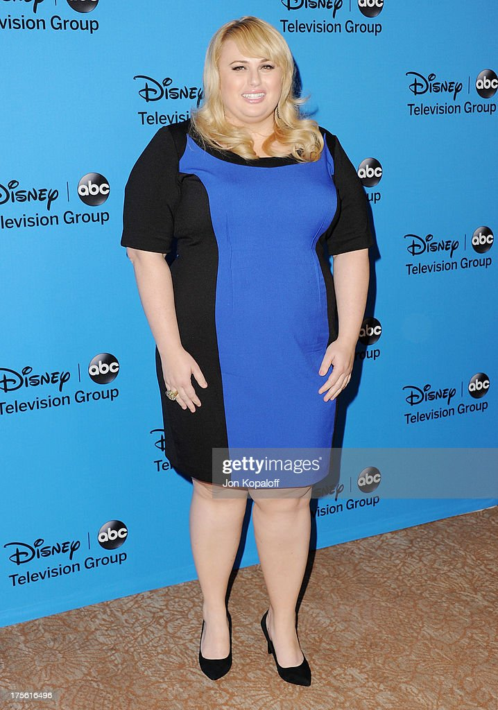 Actress Rebel Wilson arrives at the Disney/ABC Party 2013 Television Critics Association's Summer Press Tour at The Beverly Hilton Hotel on August 4, 2013 in Beverly Hills, California.