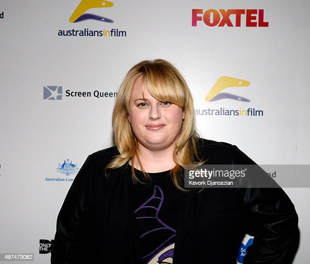 Actress Rebel Wilson attends during screening of the FoxTel and HBO's war documentary 'Only The Dead See The End of War' November 16 2015 in West...
