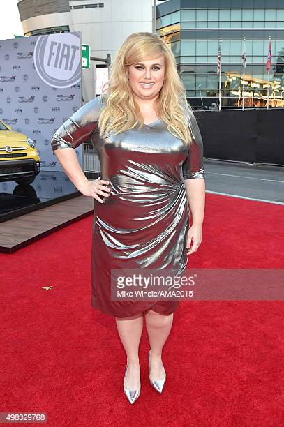 Actress Rebel Wilson attends the 2015 American Music Awards at Microsoft Theater on November 22 2015 in Los Angeles California