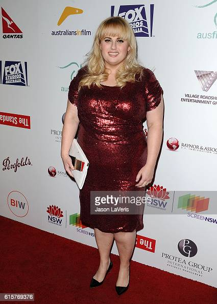 Actress Rebel Wilson attends the Australians in Film 5th Annual Awards Gala on October 19 2016 in Los Angeles California