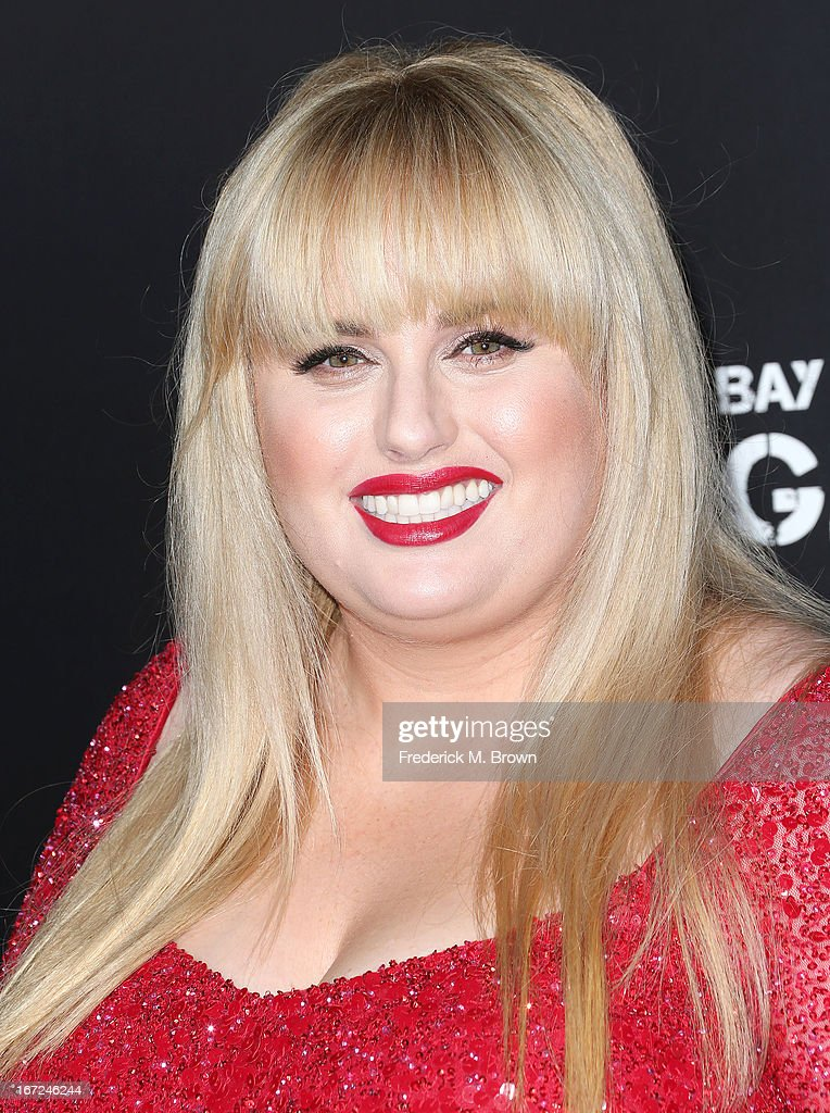 Actress Rebel Wilson attends the premiere of Paramount Pictures' 'Pain & Gain' at the TCL Chinese Theatre on April 22, 2013 in Hollywood, California.