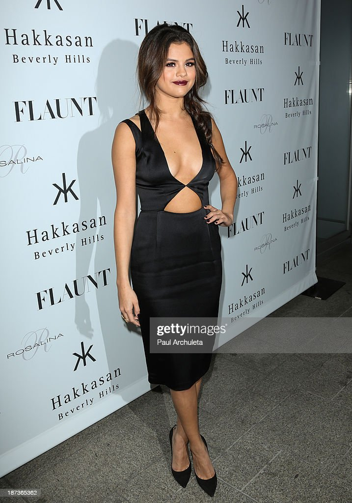Actress / Recording Artist Selena Gomez attends Flaunt magazine En Garde! issue launch party on November 7, 2013 in Beverly Hills, California.