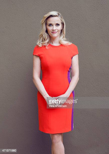 Actress Reece Witherspoon poses for a portrait at the 'Hot Pursuit' Press Conference at the The Four Seasons Hotel on April 25 2015 in Beverly Hills...