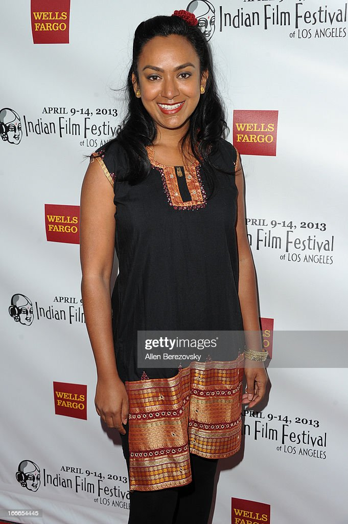 Actress Reena Dutt attends the 11th Annual Indian Film Festival of Los Angeles Closing Night Gala premiere of 'Midnight's Children' at ArcLight Hollywood on April 14, 2013 in Hollywood, California.