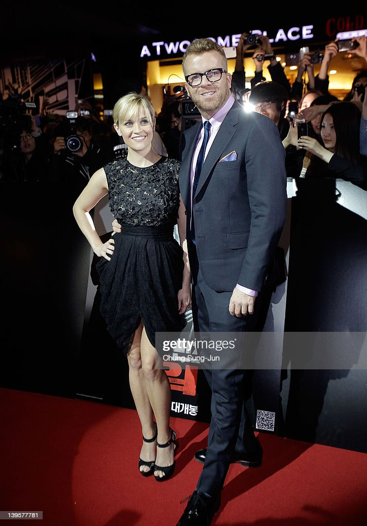 Actress Reese Witherspoon and director McG attend the 'This Means War' South Korea premiere at Yeongdeungpo CGV on February 23, 2012 in Seoul, South Korea. The film will open on February 29 in South Korea.