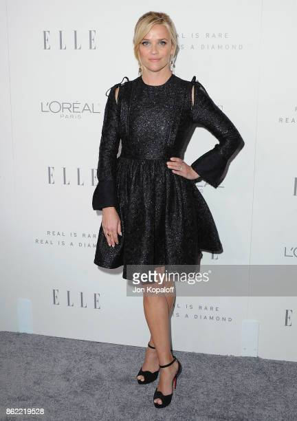 Actress Reese Witherspoon arrives at ELLE's 24th Annual Women in Hollywood Celebration at Four Seasons Hotel Los Angeles at Beverly Hills on October...