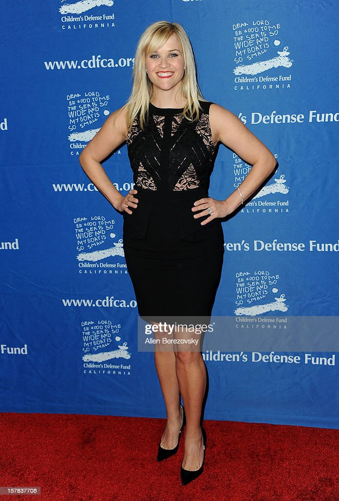 Actress Reese Witherspoon arrives at the Children's Defense Fund of California 22nd Annual Beat The Odds Awards at Beverly Hills Hotel on December 6, 2012 in Beverly Hills, California.
