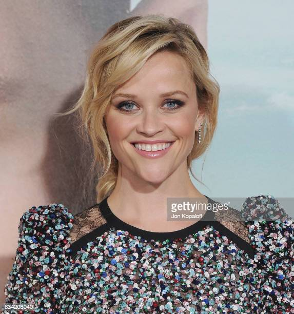 Actress Reese Witherspoon arrives at the Los Angeles premiere 'Big Little Lies' at TCL Chinese Theatre on February 7 2017 in Hollywood California