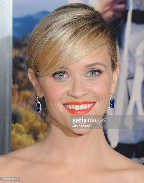 Actress Reese Witherspoon arrives at the Los Angeles Premiere 'Wild' at AMPAS Samuel Goldwyn Theater on November 19 2014 in Beverly Hills California