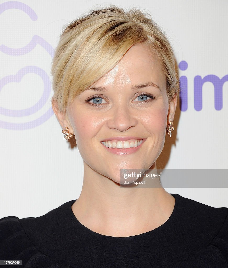 Actress Reese Witherspoon arrives at the March Of Dimes Celebration Of Babies Luncheon at Beverly Hills Hotel on December 7, 2012 in Beverly Hills, California.
