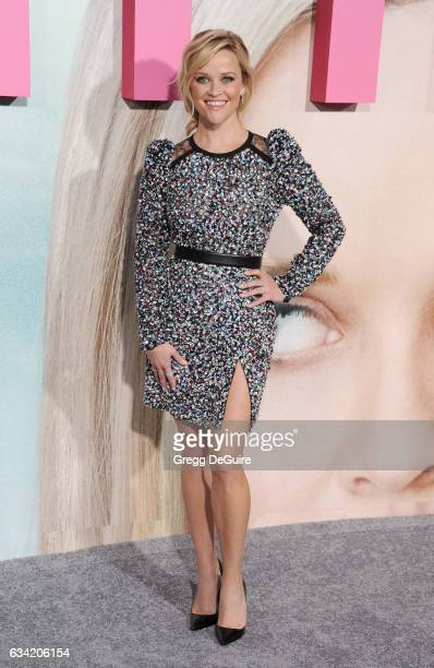 Actress Reese Witherspoon arrives at the premiere of HBO's 'Big Little Lies' at TCL Chinese Theatre on February 7 2017 in Hollywood California