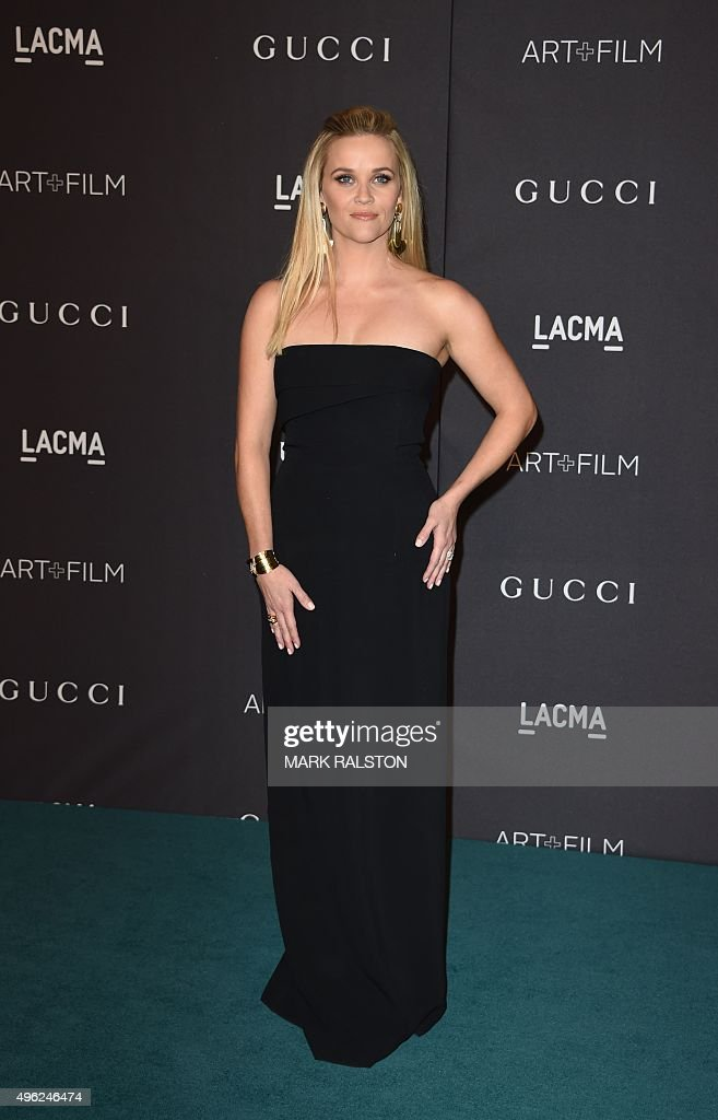 Actress Reese Witherspoon arrives for the LACMA 2015 ArtFilm Gala Honoring James Turrell and Alejandro G Iñárritu Presented by Gucci at LACMA in Los...