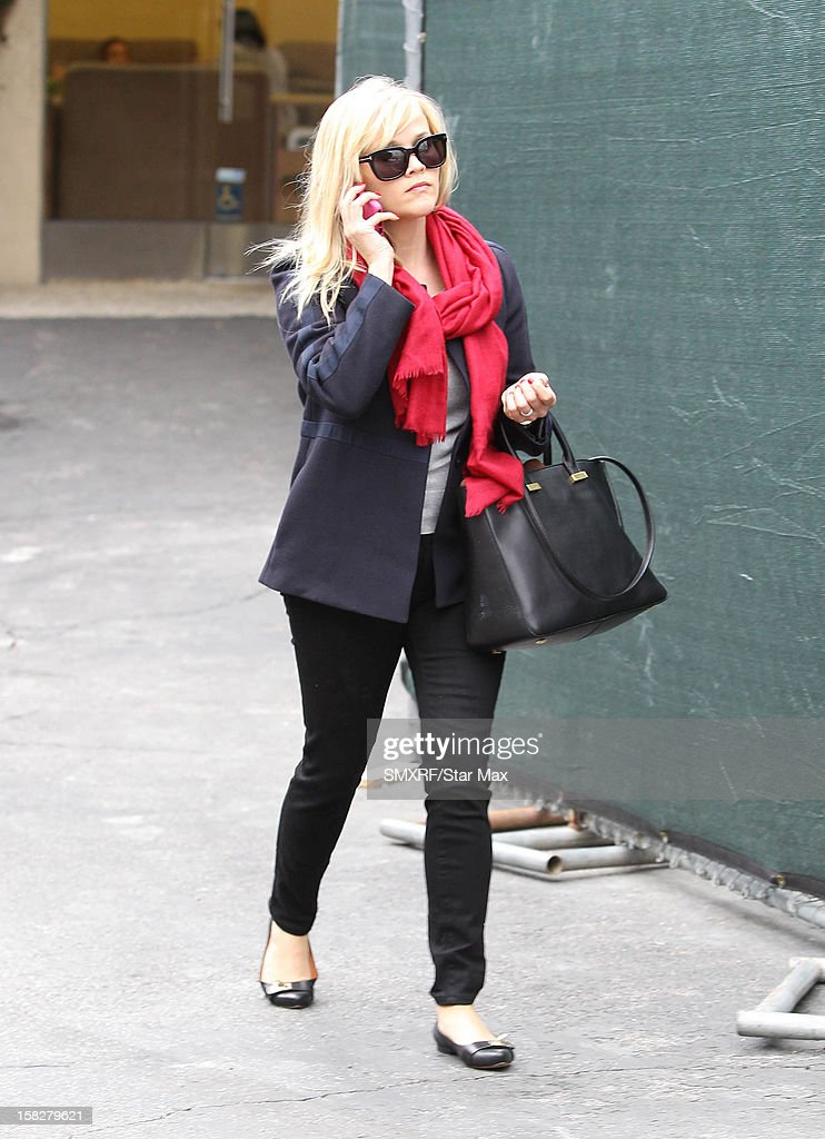 Actress Reese Witherspoon as seen on December 12, 2012 in Los Angeles, California.