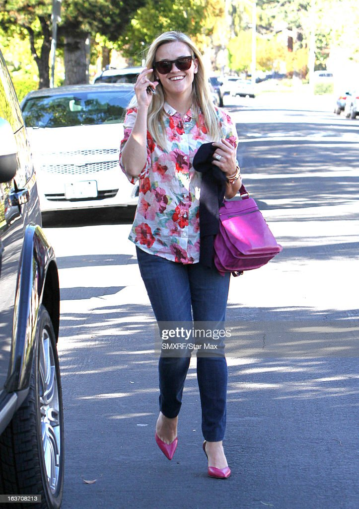 Actress Reese Witherspoon as seen on March 14, 2013 in Los Angeles, California.