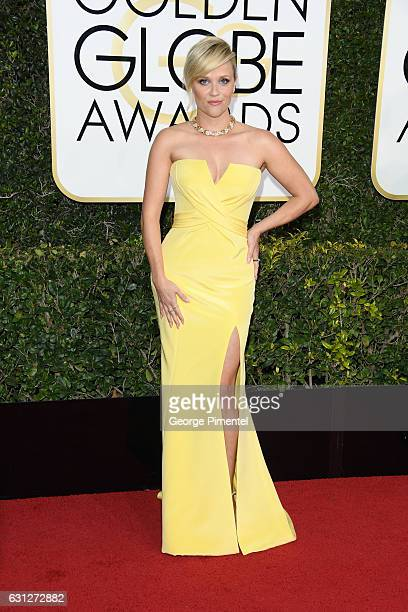 Actress Reese Witherspoon attends 74th Annual Golden Globe Awards held at The Beverly Hilton Hotel on January 8 2017 in Beverly Hills California