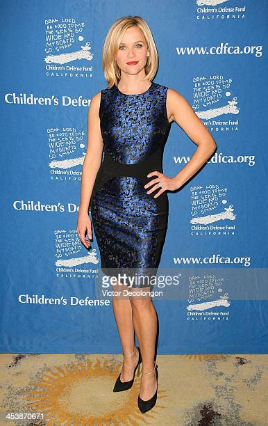 Actress Reese Witherspoon attends Children's Defense Fund California Hosts 23rd Annual Beat The Odds Awards at the Beverly Hills Hotel on December 5...