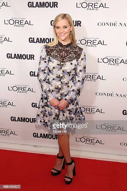 Actress Reese Witherspoon attends Glamour's 25th Anniversary Women Of The Year Awards at Carnegie Hall on November 9 2015 in New York City