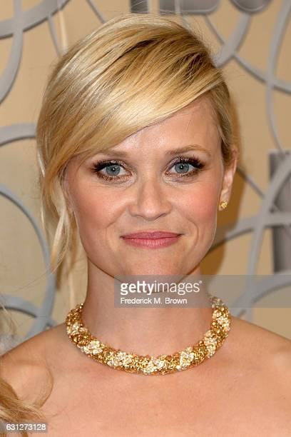 Actress Reese Witherspoon attends HBO's Official Golden Globe Awards After Party at Circa 55 Restaurant on January 8 2017 in Beverly Hills California