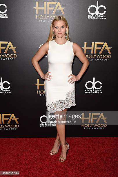 Actress Reese Witherspoon attends the 19th Annual Hollywood Film Awards at The Beverly Hilton Hotel on November 1 2015 in Beverly Hills California