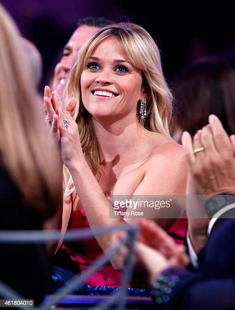 Actress Reese Witherspoon attends the 20th annual Critics' Choice Movie Awards at the Hollywood Palladium on January 15 2015 in Los Angeles California