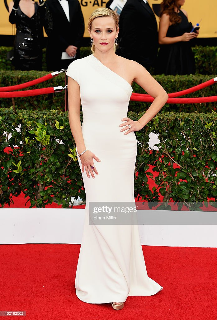 Actress Reese Witherspoon attends the 21st Annual Screen Actors Guild Awards at The Shrine Auditorium on January 25 2015 in Los Angeles California