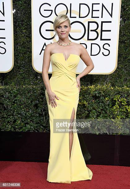 Actress Reese Witherspoon attends the 74th Annual Golden Globe Awards at The Beverly Hilton Hotel on January 8 2017 in Beverly Hills California