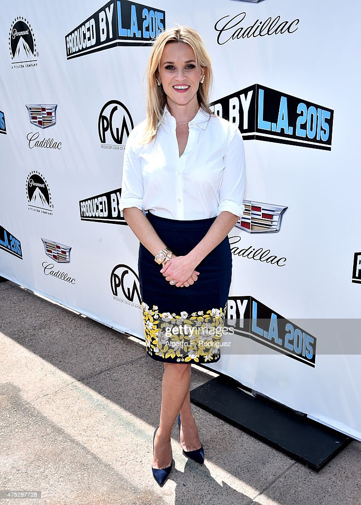 Actress <a gi-track='captionPersonalityLinkClicked' href=/galleries/search?phrase=Reese+Witherspoon&family=editorial&specificpeople=201577 ng-click='$event.stopPropagation()'>Reese Witherspoon</a> attends the 7th Annual Produced By Conference at Paramount Studios on May 30, 2015 in Hollywood, California.