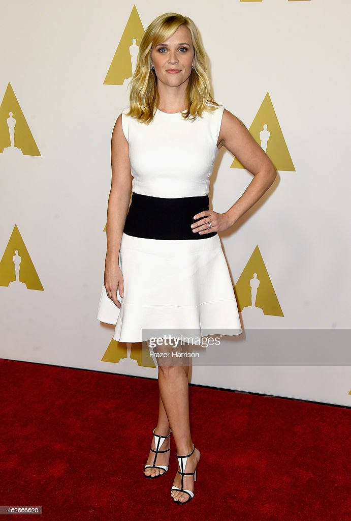 Actress Reese Witherspoon attends the 87th Annual Academy Awards Nominee Luncheon at The Beverly Hilton Hotel on February 2 2015 in Beverly Hills...