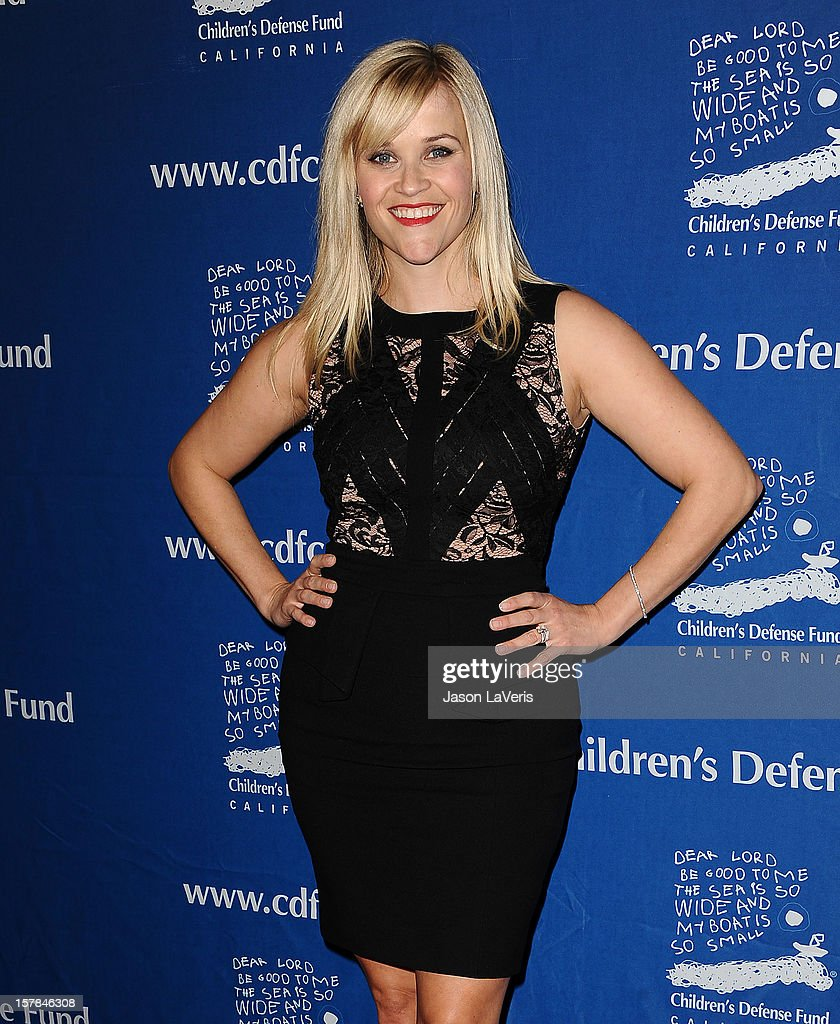 Actress <a gi-track='captionPersonalityLinkClicked' href=/galleries/search?phrase=Reese+Witherspoon&family=editorial&specificpeople=201577 ng-click='$event.stopPropagation()'>Reese Witherspoon</a> attends the Children's Defense Fund's 22nd annual 'Beat the Odds' Awards at the Beverly Hills Hotel on December 6, 2012 in Beverly Hills, California.