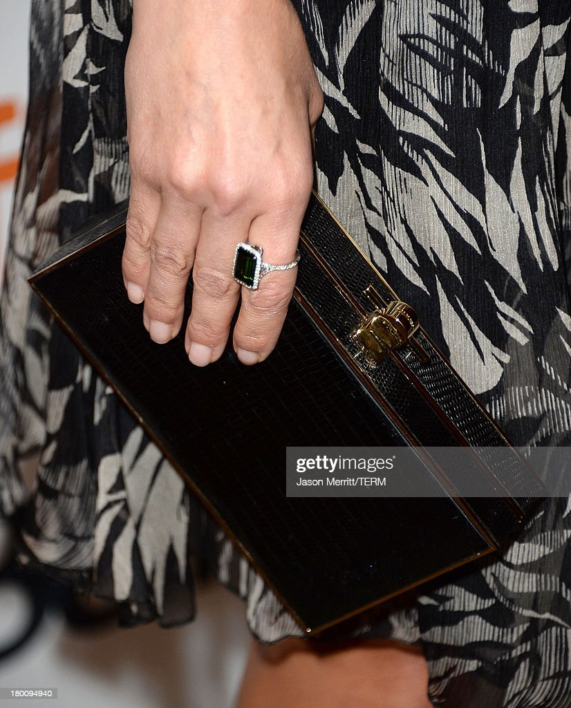 Actress Reese Witherspoon (clutch detail) attends 'The Devil's Knot' premiere during the 2013 Toronto International Film Festival at The Elgin on September 8, 2013 in Toronto, Canada.