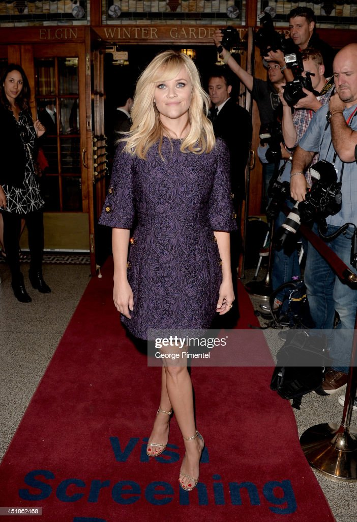 Actress Reese Witherspoon attends 'The Good Lie' premiere during the 2014 Toronto International Film Festival at The Elgin on September 7, 2014 in Toronto, Canada.