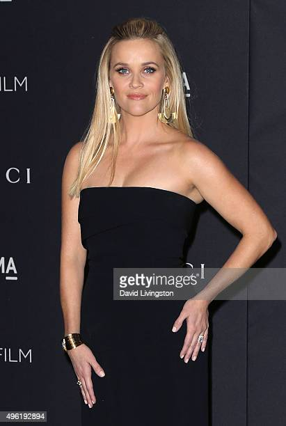 Actress Reese Witherspoon attends the LACMA Art Film Gala honoring Alejandro G Iñárritu and James Turrell and presented by Gucci at LACMA on November...