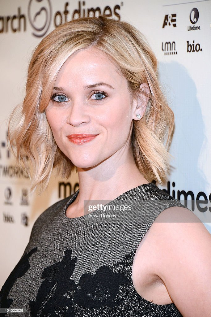 Actress Reese Witherspoon attends the March of Dimes Celebration of Babies Luncheon at Beverly Hills Hotel on December 6, 2013 in Beverly Hills, California.