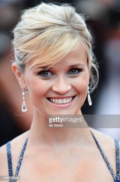 Actress Reese Witherspoon attends the 'Mud' Premiere during the 65th Annual Cannes Film Festival at Palais des Festivals on May 26 2012 in Cannes...