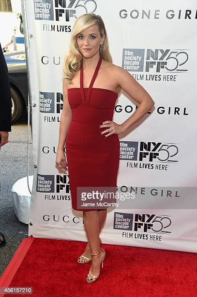 Actress Reese Witherspoon attends the Opening Night Gala Presentation and World Premiere of 'Gone Girl' during the 52nd New York Film Festival at...