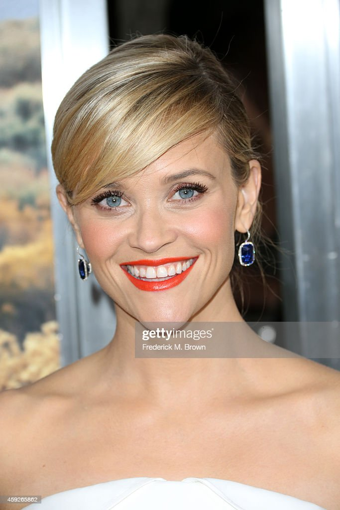 Actress Reese Witherspoon attends the premiere of Fox Searchlight's 'Wild' at AMPAS Samuel Goldwyn Theater on November 19 2014 in Beverly Hills...