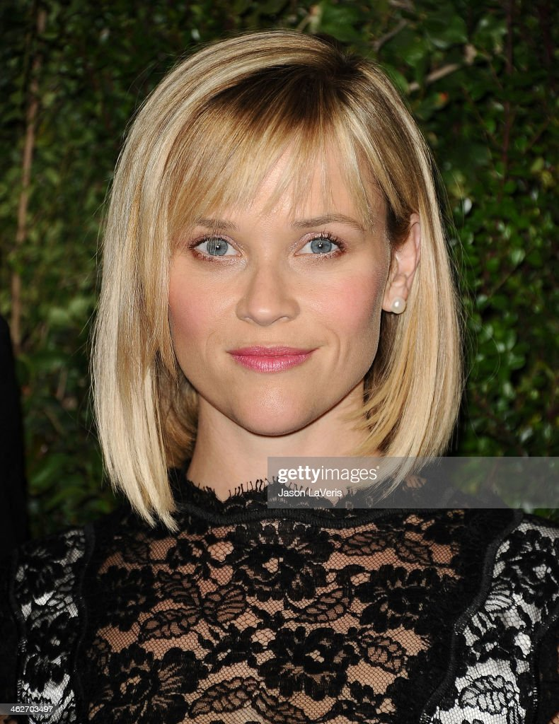 Actress <a gi-track='captionPersonalityLinkClicked' href=/galleries/search?phrase=Reese+Witherspoon&family=editorial&specificpeople=201577 ng-click='$event.stopPropagation()'>Reese Witherspoon</a> attends the release of 'Find It In Everything' at Chanel Boutique on January 14, 2014 in Beverly Hills, California.