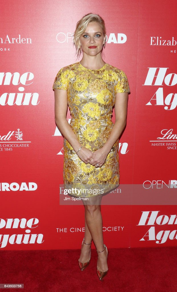 Actress Reese Witherspoon attends the screening of Open Road Films' 'Home Again' hosted by The Cinema Society with Elizabeth Arden and Lindt Chocolate at The Paley Center for Media on September 6, 2017 in New York City.