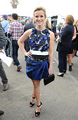 Actress Reese Witherspoon attends the Stella Artois Lounge during the 2014 Film Independent Spirit Awards at Santa Monica Beach on March 1 2014 in...