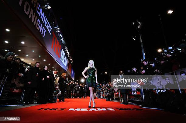 Actress Reese Witherspoon attends the 'This Means War' UK film premiere at the Odeon Kensington on January 30 2012 in London England