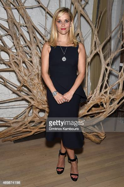 Actress Reese Witherspoon attends the Tiffany Co celebration of the 2015 Blue Book Collection on April 15 2015 in New York City