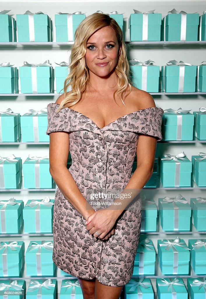 Actress Reese Witherspoon attends the Vanity Fair and Tiffany & Co. private dinner toasting Lupita Nyong'o and celebrating Legendary Style at Shangri-La Hotel on September 11, 2016 in Toronto, Canada.
