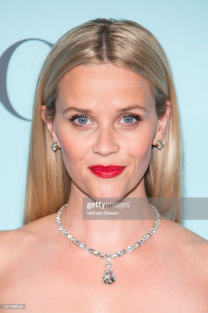 Actress Reese Witherspoon attends Tiffany Co Celebrates the 2016 Blue Book at The Cunard Building on April 15 2016 in New York City