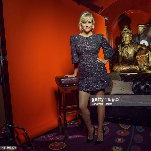 Actress Reese Witherspoon is photographed at the Charles Finch and Chanel's PreBAFTA on February 7 2015 in London England PUBLISHED IMAGE