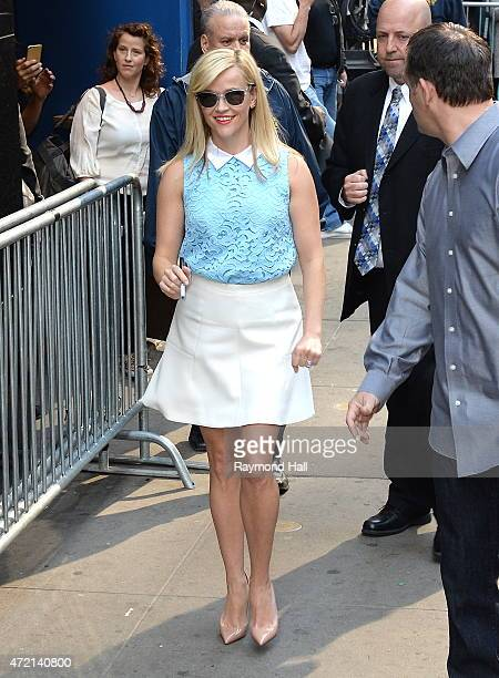 Actress Reese Witherspoon is seen at 'Good Morning America on May 4 2015 in New York City