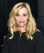 Actress Reese Witherspoon is seen leaving the 'Good Morning America' taping at the ABC Times Square Studios on December 3 2014 in New York City