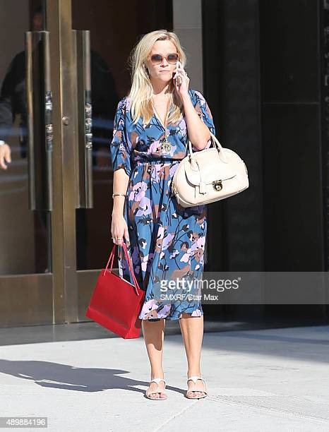 Actress Reese Witherspoon is seen on September 24 2015 in Los Angeles California