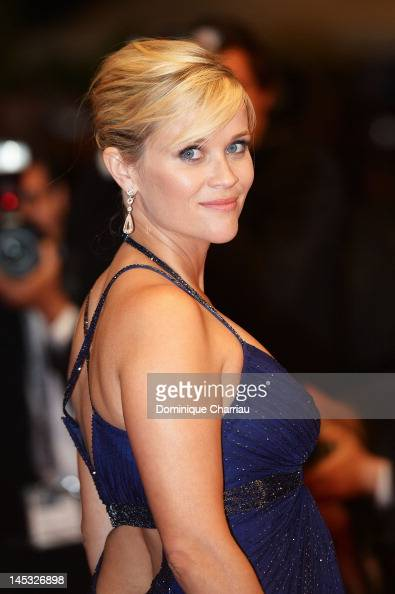 Actress Reese Witherspoon leaves the 'Mud' Premiere during the 65th Annual Cannes Film Festival at Palais des Festivals on May 26 2012 in Cannes...